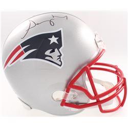 Sony Michel Signed Patriots Full-Size Helmet (JSA COA  Denver Autographs COA)