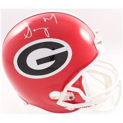 Sony Michel Signed Georgia Bulldogs Full-Size Helmet (JSA COA  Denver Autographs COA)