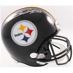 Rod Woodson Signed Steelers Full-Size Helmet (JSA COA  Denver Autographs COA)