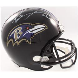 Ray Lewis Signed Ravens Full-Size Helmet (JSA COA  Denver Autographs COA)