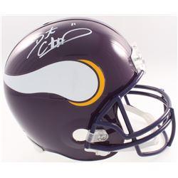 Dante Culpepper Signed Vikings Full-Size Helmet (JSA COA  Denver Autographs COA)