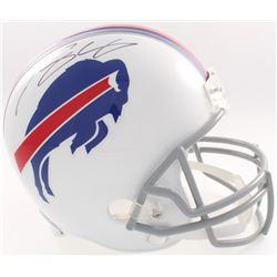 LeSean McCoy Signed Bills Full-Size Helmet (JSA COA  Denver Autographs COA)