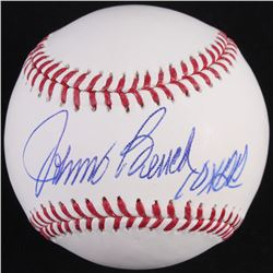 "Johnny Bench Signed OML Baseball Inscribed ""10x GG"" (Radtke Hologram)"