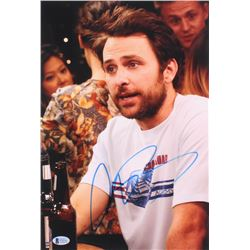 "Charlie Day Signed ""It's Always Sunny in Philadelphia"" 10x15 Photo (Beckett COA)"