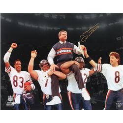 Mike Ditka Signed Bears 16x20 Photo (Schwartz Sports COA)
