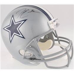 DeMarcus Lawrence Signed Cowboys Full-Size Helmet (Beckett Hologram)