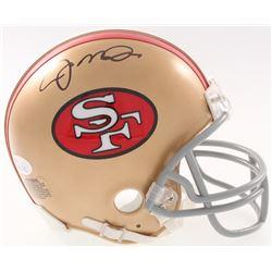Joe Montana Signed 49ers Mini Helmet (JSA COA)