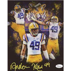 Arden Key Signed LSU Tigers 8x10 Photo (JSA COA)