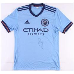 Andrea Pirlo Signed New York City FC Adidas Jersey (JSA COA)