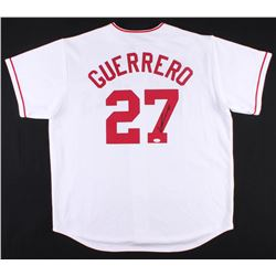 Vladimir Guerrero Signed Angels Jersey (JSA COA)