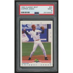 1992 Classic / Best #93 Chipper Jones (PSA 9)