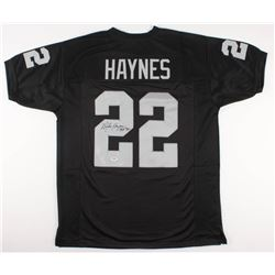 "Mike Haynes Signed Raiders Jersey Inscribed ""HOF 97"" (PSA COA)"