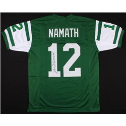 Joe Namath Signed Jets  Jersey (JSA COA)