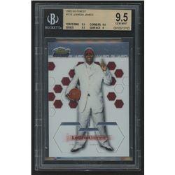 2002-03 Finest #178 LeBron James RC (BGS 9.5)