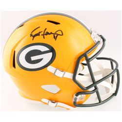 Brett Favre Signed Packers Full-Size Speed Helmet (Favre COA)