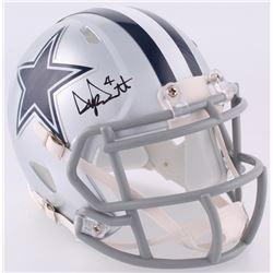 Dak Prescott Signed Cowboys Speed Mini Helmet (JSA COA)