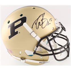 Drew Brees Signed Purdue Boilermakers Full-Size Authentic On-Field Helmet (Radtke COA  Brees Hologra