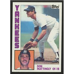 1984 Topps #8 Don Mattingly RC