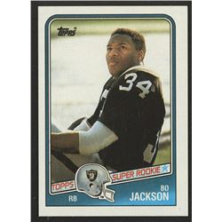 1988 Topps #327 Bo Jackson SR RC