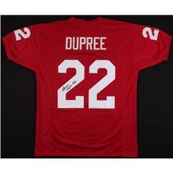 Marcus Dupree Signed Oklahoma Sooners Jersey (JSA COA)