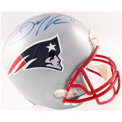Julian Edelman Signed Patriots Full-Size Helmet (JSA COA)