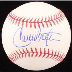Carlos Beltran Signed OML Baseball (JSA COA)