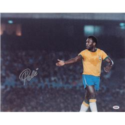 Pele Signed Brazil 16x20 Photo (PSA COA)