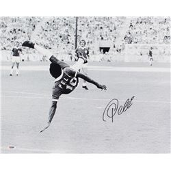 Pele Signed 16x20 Photo (PSA COA)