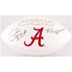 "Cornelius Bennett Signed Alabama Crimson Tide Logo Football Inscribed ""3X's 1st Team All American"" ("