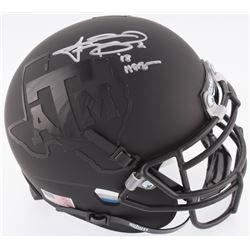 "Johnny Manziel Signed Texas AM Aggies Mini-Helmet Inscribed ""'12 Heisman"" (JSA COA)"