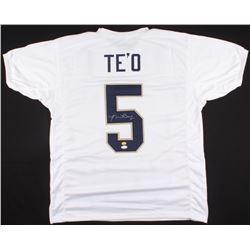 Manti Te'o Signed Notre Dame Fighting Irish Jersey (JSA COA  Teo Hologram)
