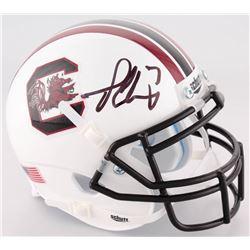 Jadeveon Clowney Signed South Carolina Gamecocks Mini Helmet (JSA COA)