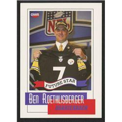 2004 OMR Ben Roethlisberger Trading Card