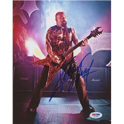 Kerry King Signed 8x10 Photo (PSA COA)