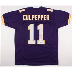 Daunte Culpepper Signed Vikings Jersey (Beckett COA)