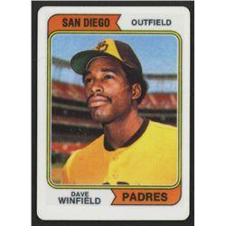 Dave Winfield 1974 Topps #456 RC Replica Porcelain Baseball Card