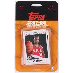 2007-08 Topps NBA Basketball Rooke Card Set of (14)