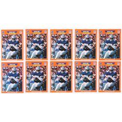 Lot of (10) 1989 Pro Set #89 Michael Irvin RC
