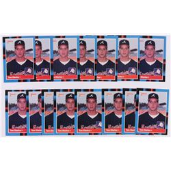 Lot of (15) 1988 Donruss #644 Tom Glavine RC