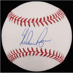 Nolan Ryan Signed 2017 World Series OML Baseball (JSA COA  Ryan Hologram)