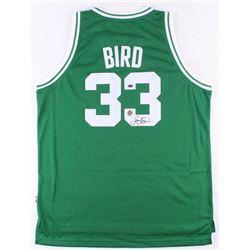 Larry Bird Signed Celtics Jersey (Schwartz COA  Bird Hologram)