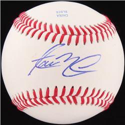 Aaron Nola Signed Baseball (JSA COA)