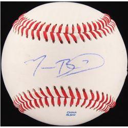 Mookie Betts Signed OL Baseball (JSA COA)