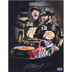 Martin Truex Jr. Signed  NASCAR #78 11x14 Photo (PA COA)