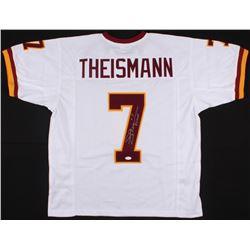 "Joe Theismann Signed Redskins Jersey Inscribed ""8 MVP"" (JSA COA)"