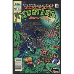 Kevin Eastman Signed Teenage Mutant Ninja Turtles Original Vintage Comic Book with Hand-Drawn Turtle