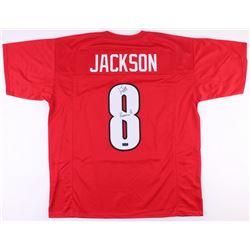 "Lamar Jackson Signed Louisville Cardinals Jersey Inscribed ""Heisman 16"" (Radtke COA)"