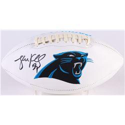 Luke Kuechly Signed Panthers Logo Football (Radtke COA)