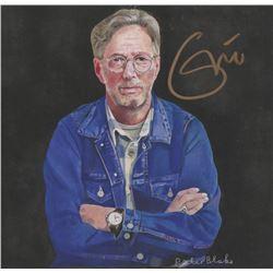 "Eric Clapton Signed ""I Still Do"" 5x5 Album Cover Photo (JSA LOA)"