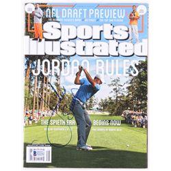 Jordan Spieth Signed 2015 Sports Illustrated Magazine (Beckett COA)